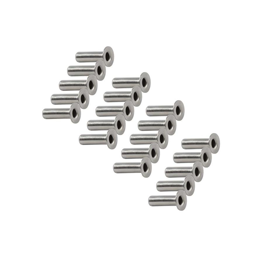 Timbertech Cablerail By Feeney 20 Pack Stainless Steel Protector Sleeves