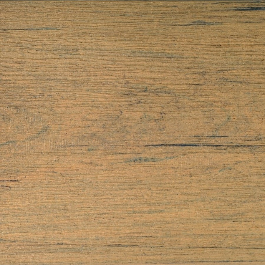 TimberTech (Actual: 0.94-in x 5.36-in x 16-ft) Tigerwood Grooved Composite Deck Board
