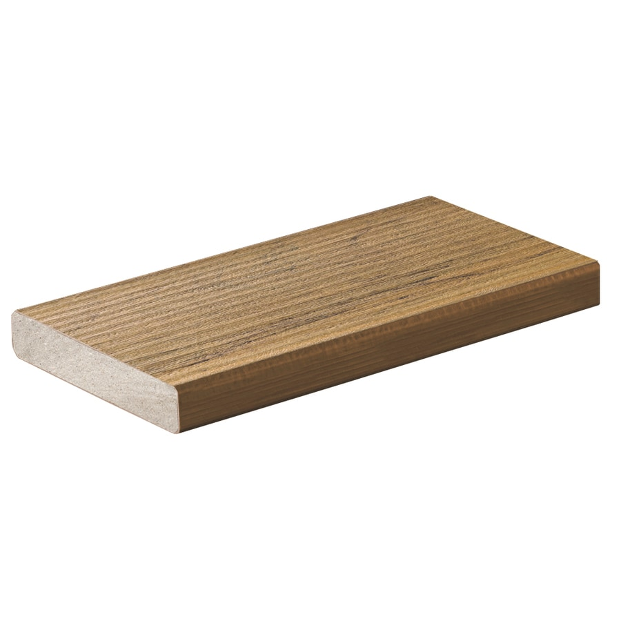 TimberTech (Actual: 0.94-in x 5.36-in x 16-ft) Tigerwood Composite Deck Board