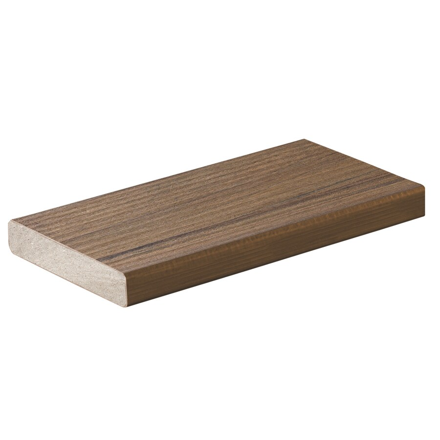 TimberTech (Actual: 0.94-in x 5.36-in x 20-ft) Pecan Square Composite Deck Board
