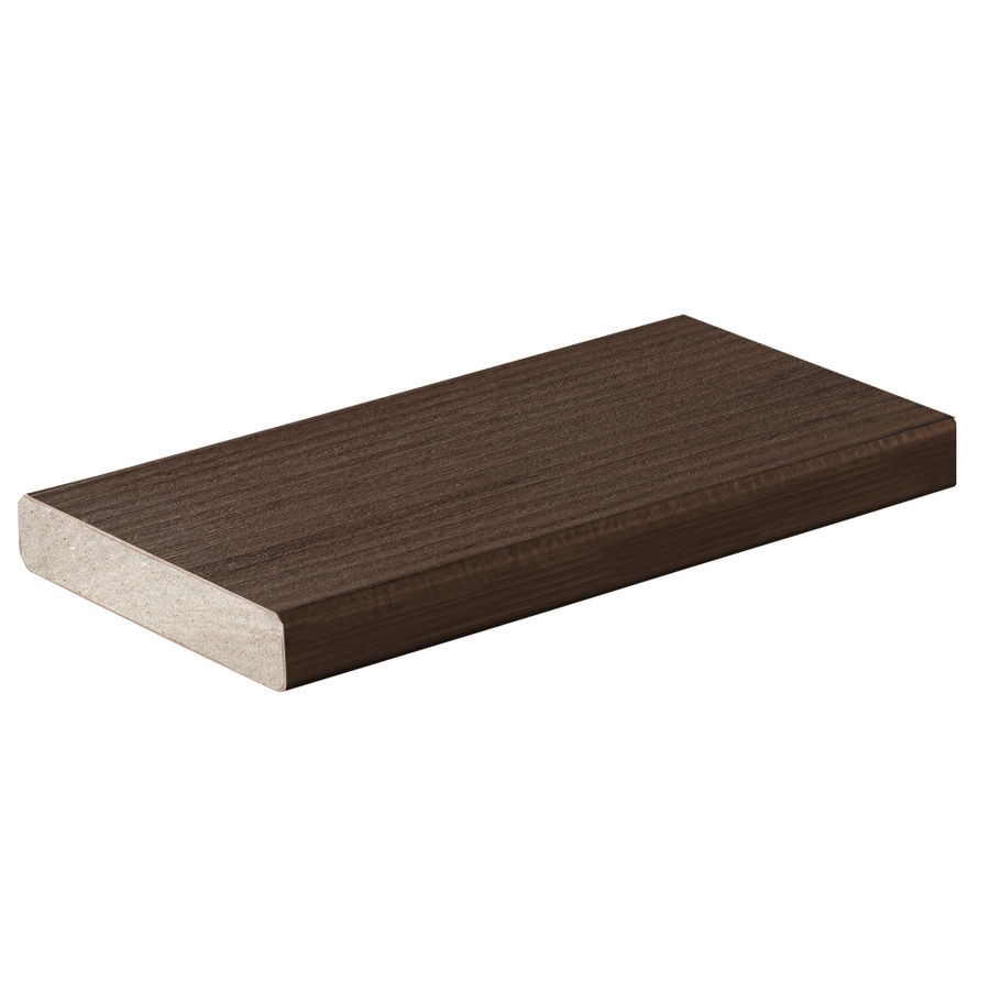 TimberTech (Actual: 0.94-in x 5.36-in x 20-ft) Mocha Square Composite Deck Board