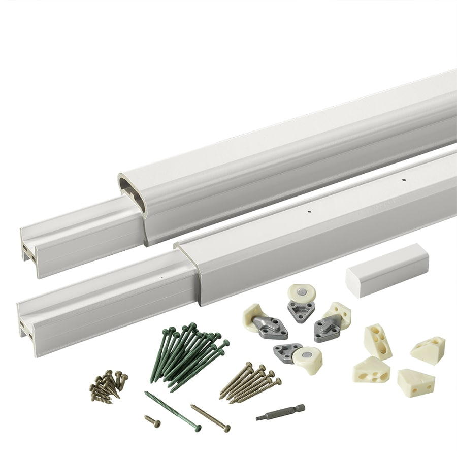 TimberTech (Assembled: 6-ft x 3-ft) Radiance Rail White Composite Deck Railing Kit