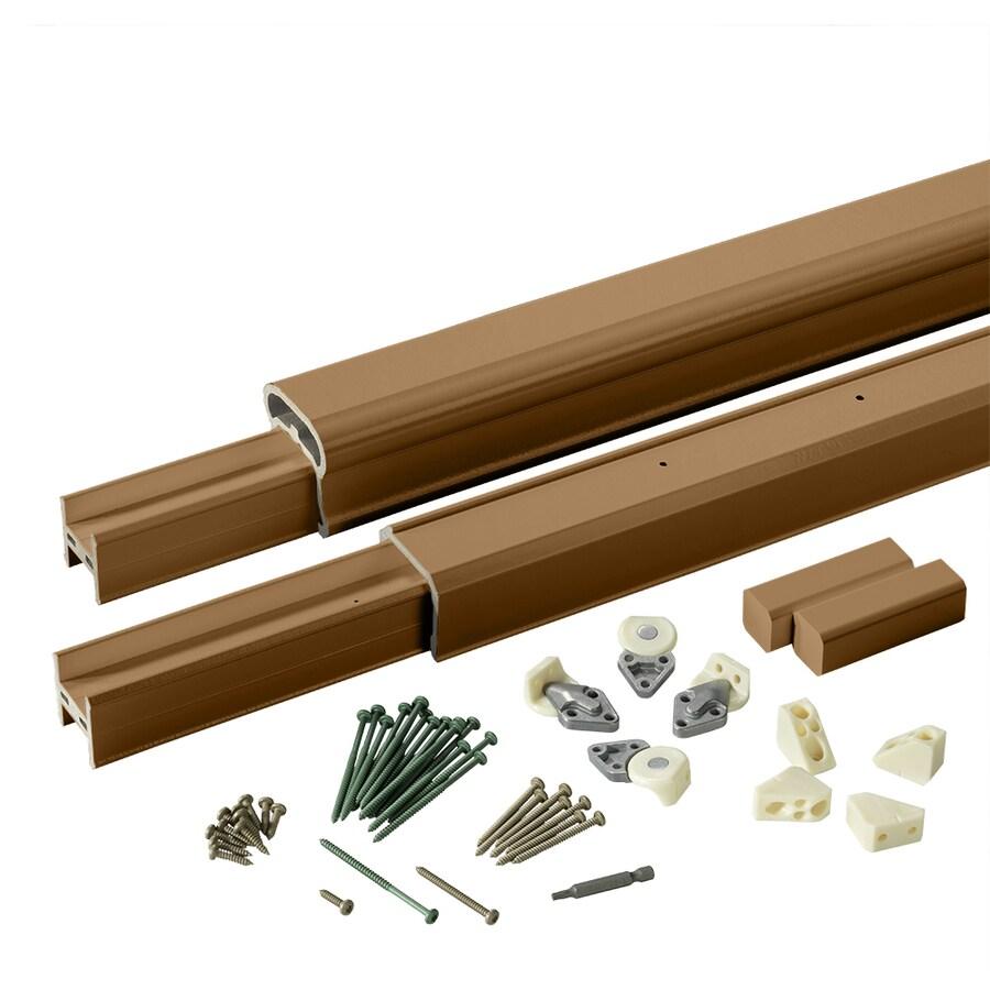 TimberTech Radiancerail Mountain Cedar Composite Deck Railing Kit (Assembled: 8-ft x 3-ft)