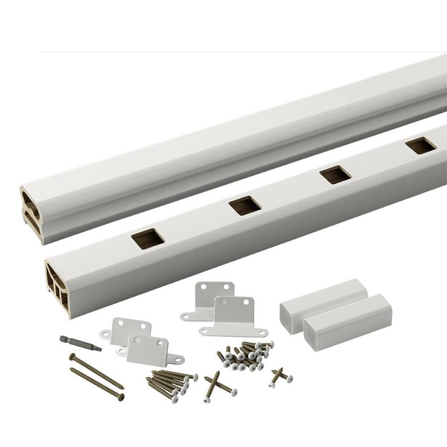 TimberTech (Assembled: 8-ft x 3-ft) RadianceRail Express White Composite Deck Railing Kit