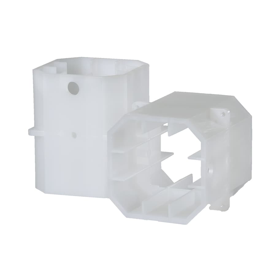 TimberTech White Composite Column Adapter