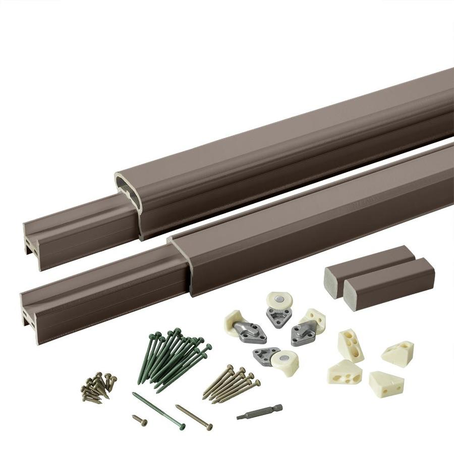 TimberTech (Assembled: 6-ft x 3-ft) RadianceRail Kona Composite Deck Railing Kit