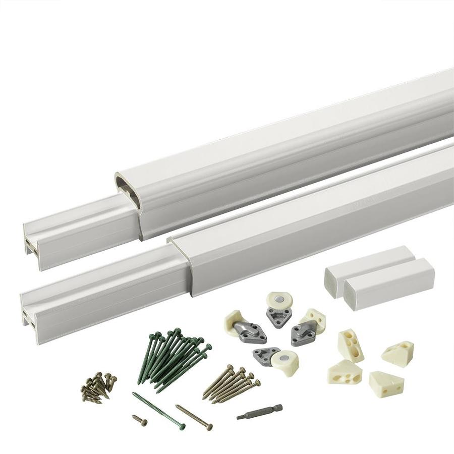 TimberTech (Assembled: 8-ft x 3-ft) Radiance Rail White Composite Deck Railing Kit