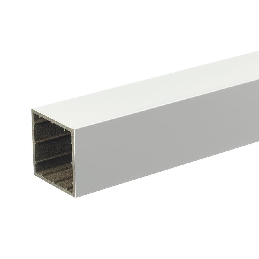 TimberTech White Composite Deck Post Sleeve (Fits Common Post Measurement: 4-in x 4-in; Actual: 4-in x 4-in x 39-in)