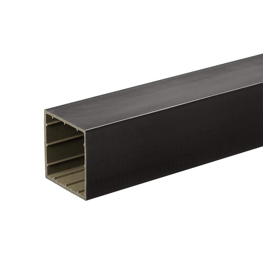 TimberTech Black Composite Deck Post Sleeve (Fits Common Post Measurement: 4-in x 4-in; Actual: 4-in x 4-in x 96-in)