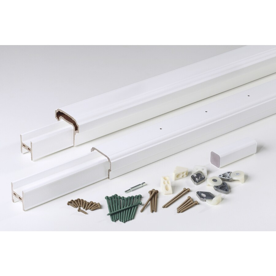 AZEK (Assembled: 6-ft x 3-ft) RadianceRail White Composite Deck Railing Kit