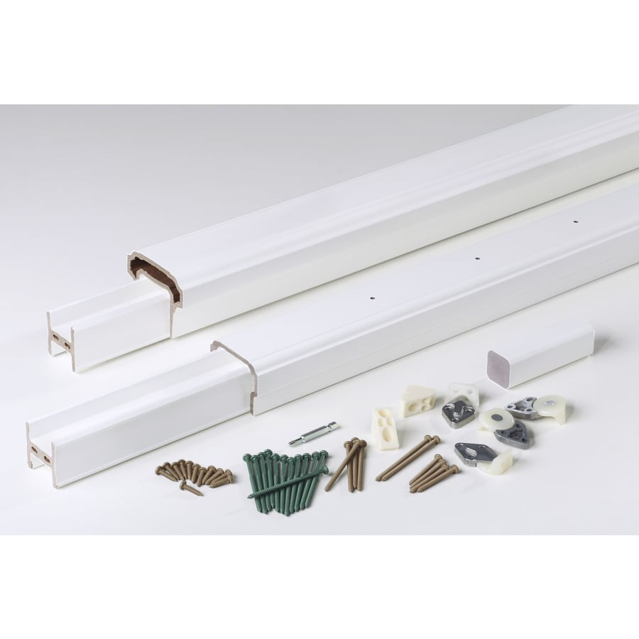 AZEK (Assembled: 8-ft x 3-ft) RadianceRail White Composite Deck Railing Kit