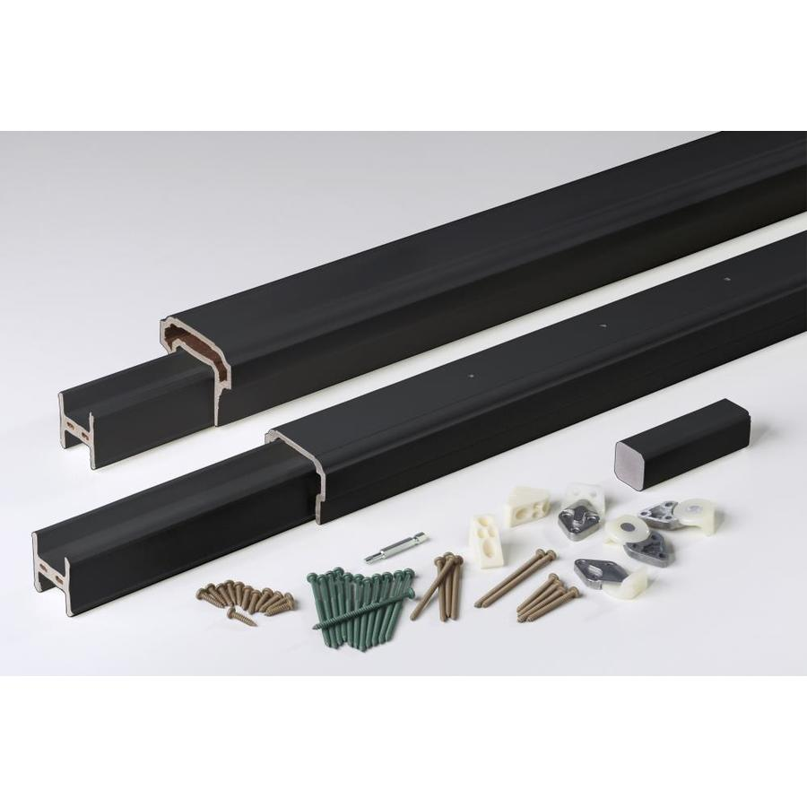 AZEK Radiancerail Black Composite Deck Railing Kit (Assembled: 8-ft x 3-ft)