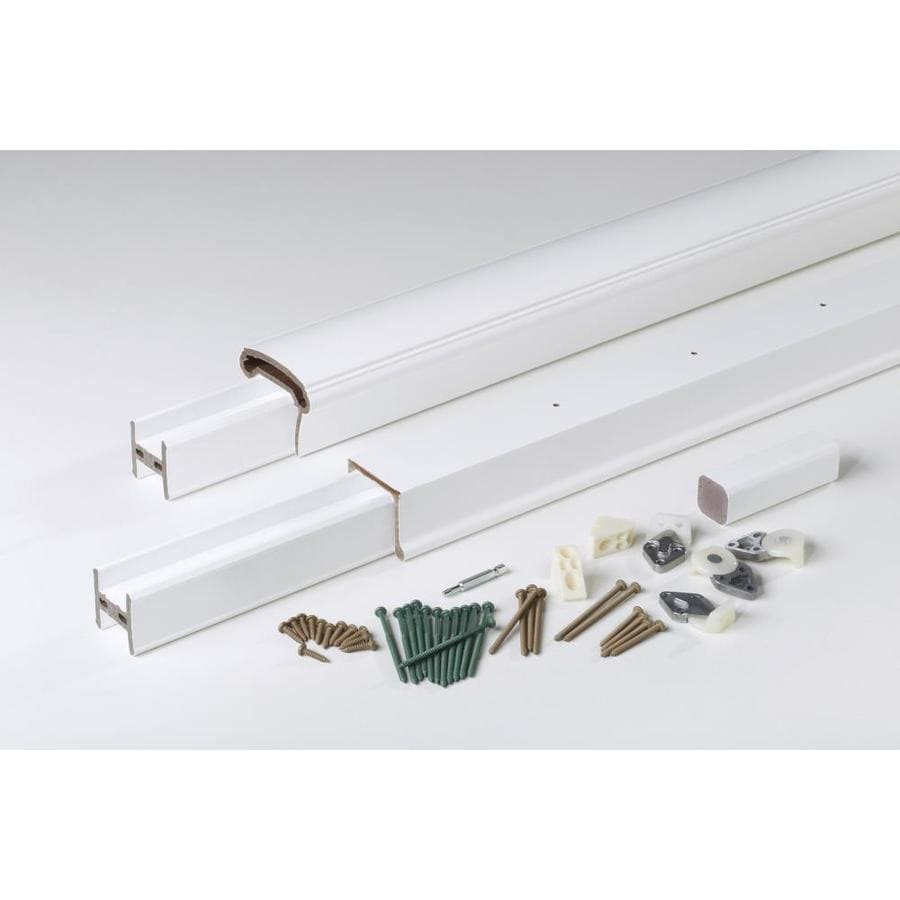 AZEK (Assembled: 6-ft x 3-ft) Trademark White Composite Deck Railing Kit