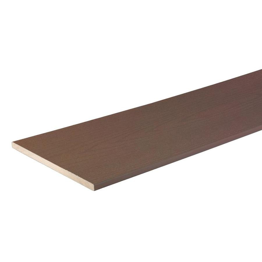 TimberTech (Actual: 0.56-in x 12-in x 12-ft) Terrain Rustic Elm Composite Deck Board