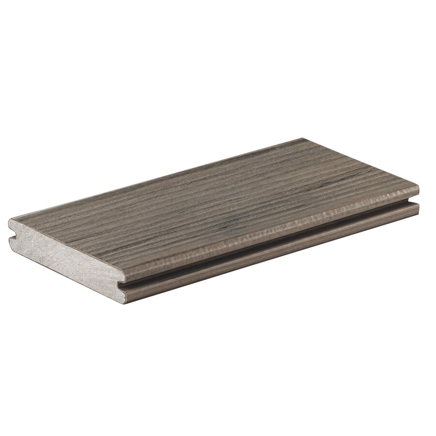TimberTech Legacy Ashwood Groove Composite Deck Board (Actual: 0.94-in x 5.36-in x 20-ft)