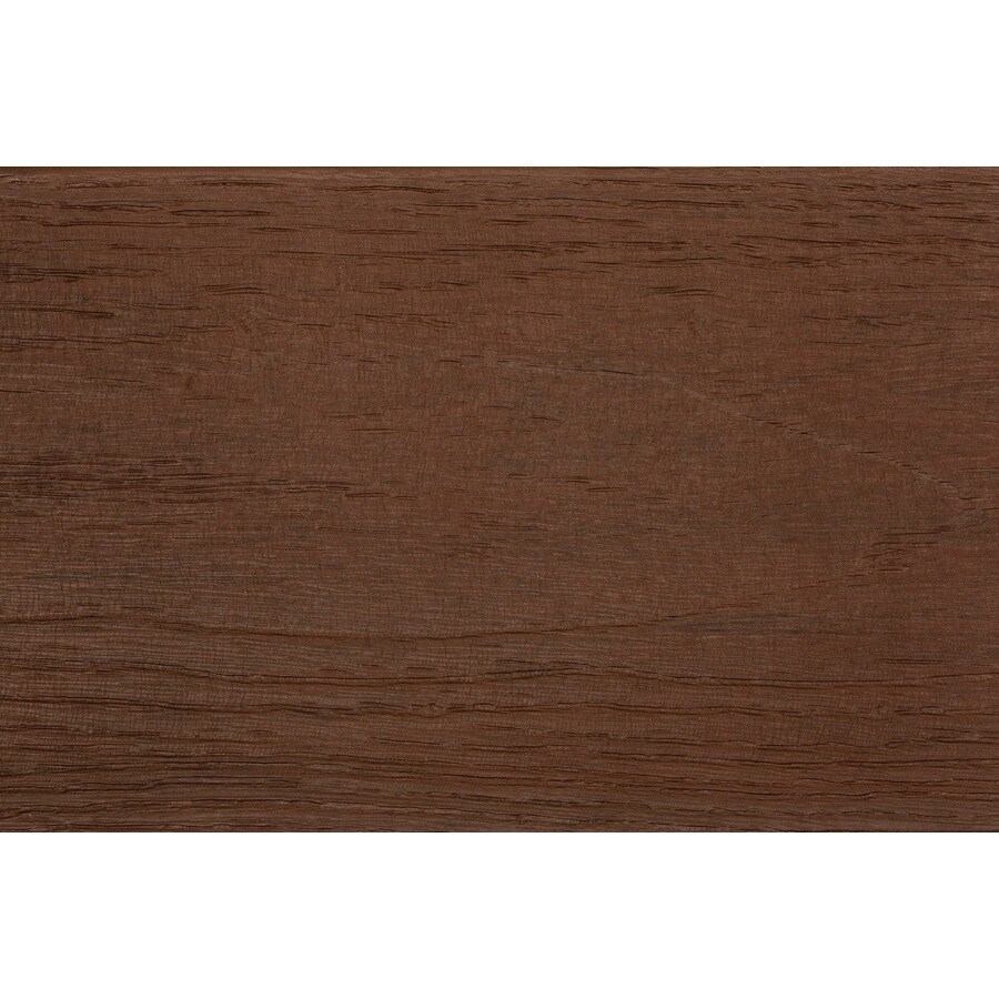TimberTech (Actual: 0.94-in x 5.36-in x 12-ft) Tropical Caribbean Redwood Grooved Composite Deck Board