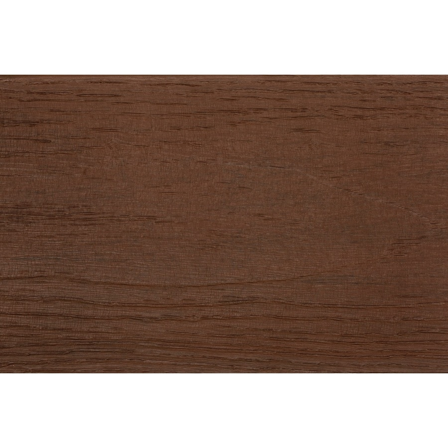 TimberTech (Actual: 0.94-in x 5.36-in x 20-ft) Tropical Caribbean Red Grooved Composite Deck Board