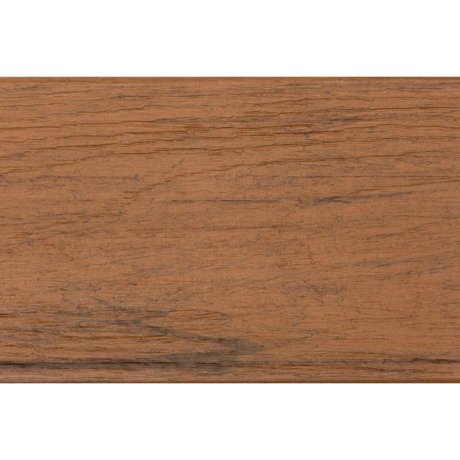 TimberTech Tropical Antigua Gold Composite Deck Board (Actual: 0.94-in x 5.36-in x 16-ft)