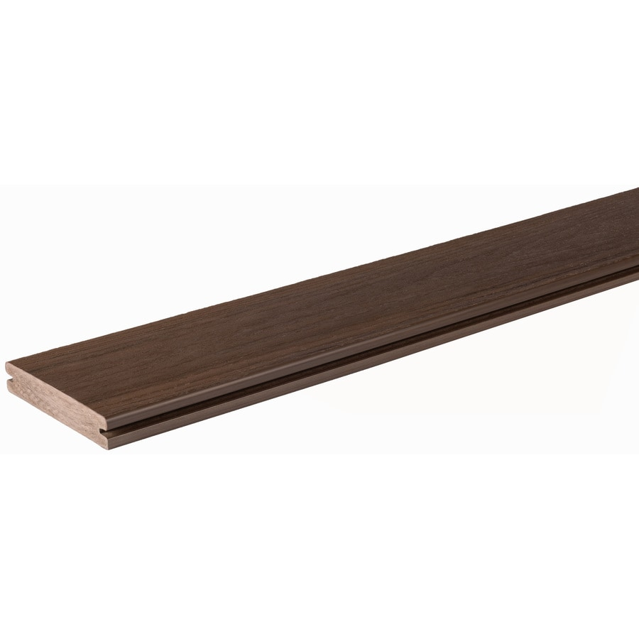 AZEK Arbor Brazilian Walnut Deck Board Sample