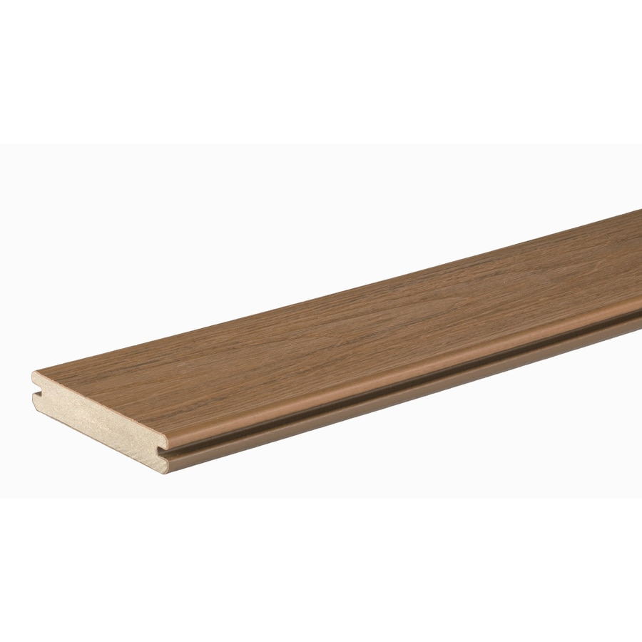 TimberTech Tropical Antigua Gold Deck Board Sample
