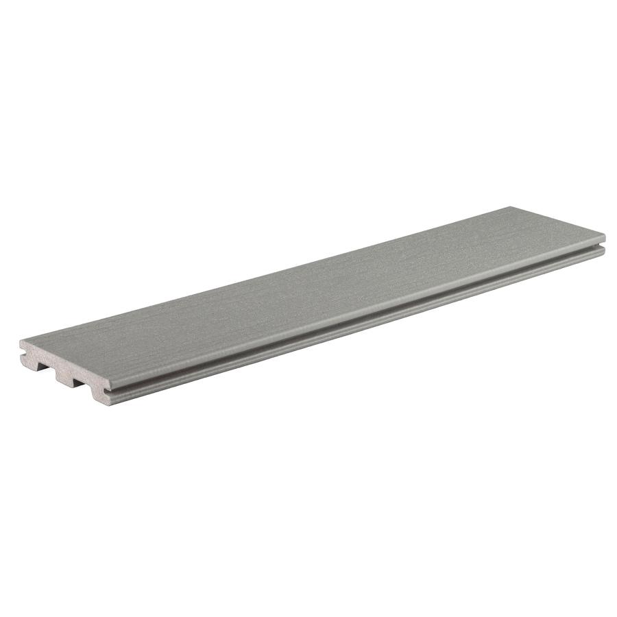 TimberTech Terrain Stone Ash Deck Board Sample