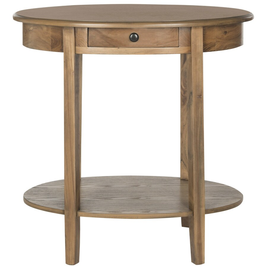 Safavieh American Home Oak Pine Oval End Table