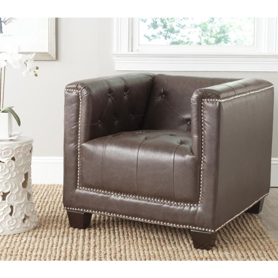 Faux leather   Rustic Chairs at