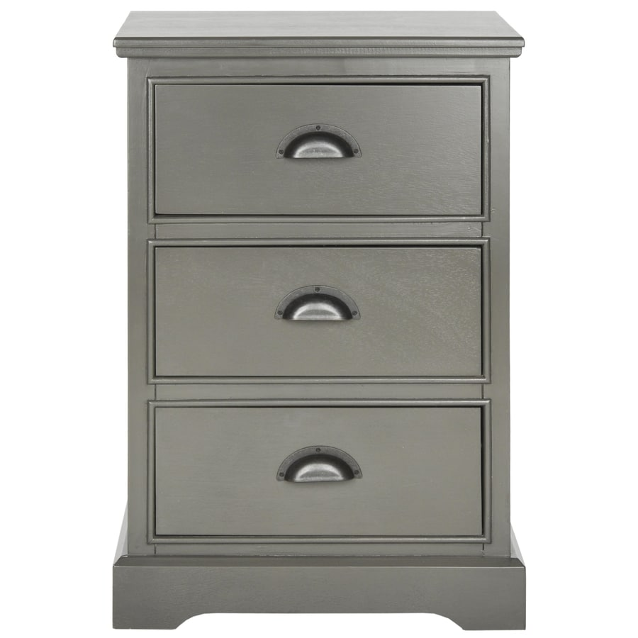 Safavieh Samara Gray Pine End Table