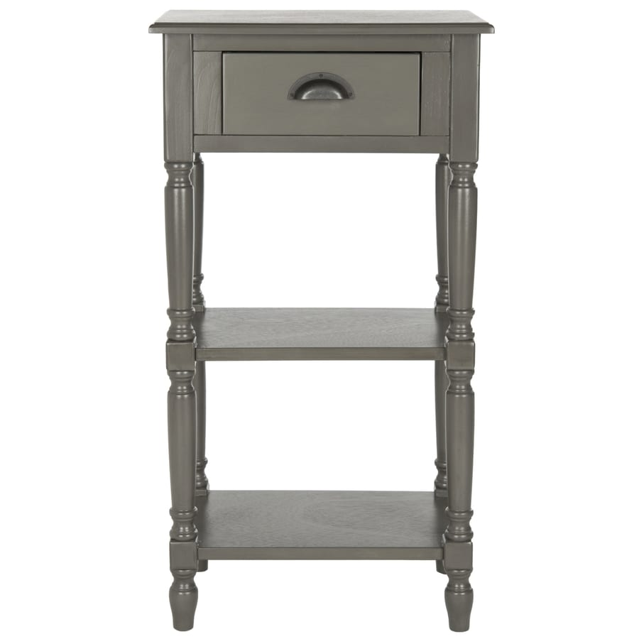 Safavieh American Home Grey Pine Rectangular End Table