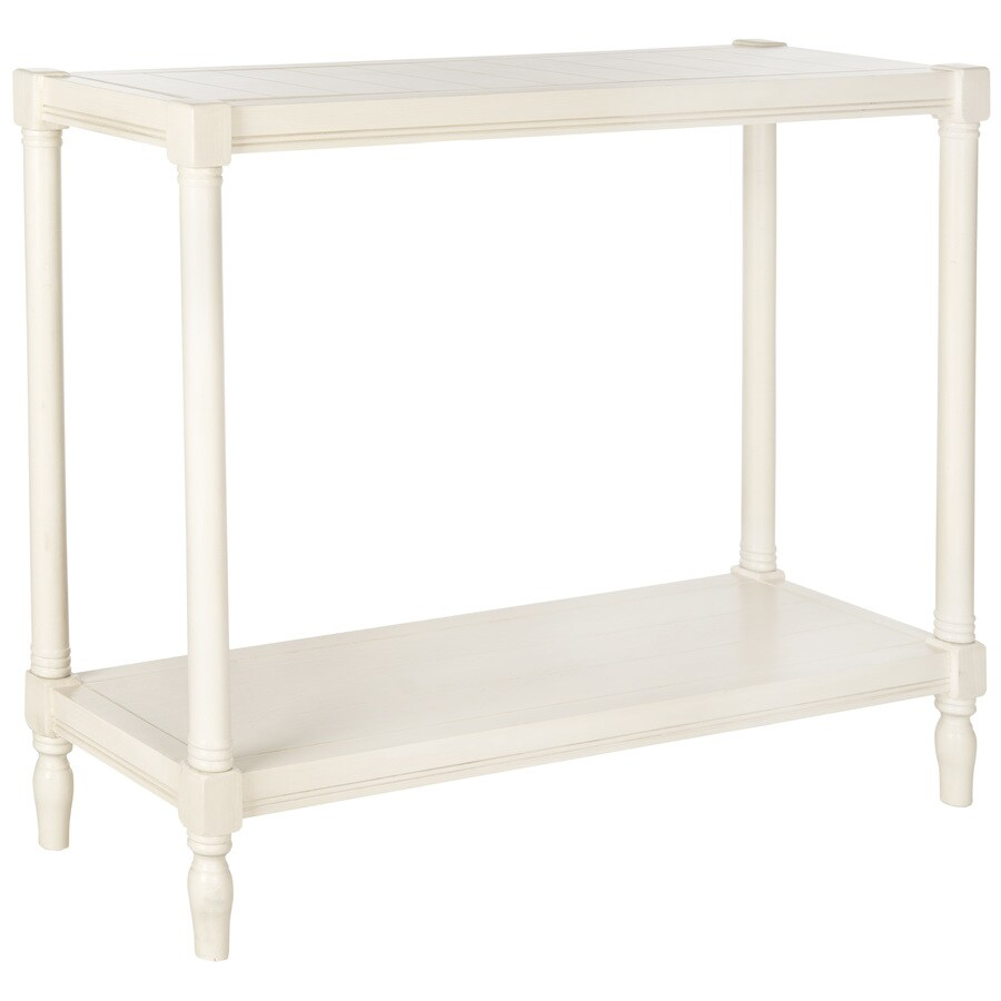 Safavieh American Home White Pine Rectangular Console Table