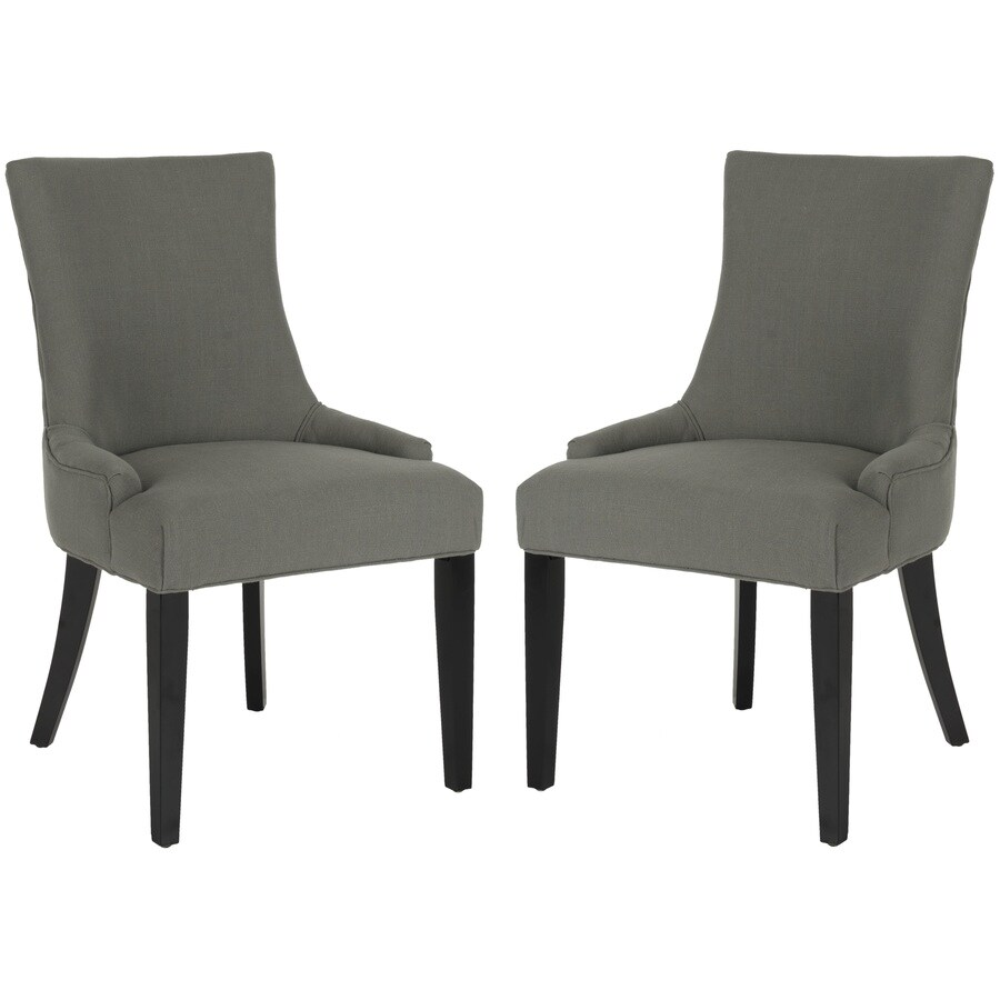 Safavieh Set of 2 Mercer Granite Side Chairs