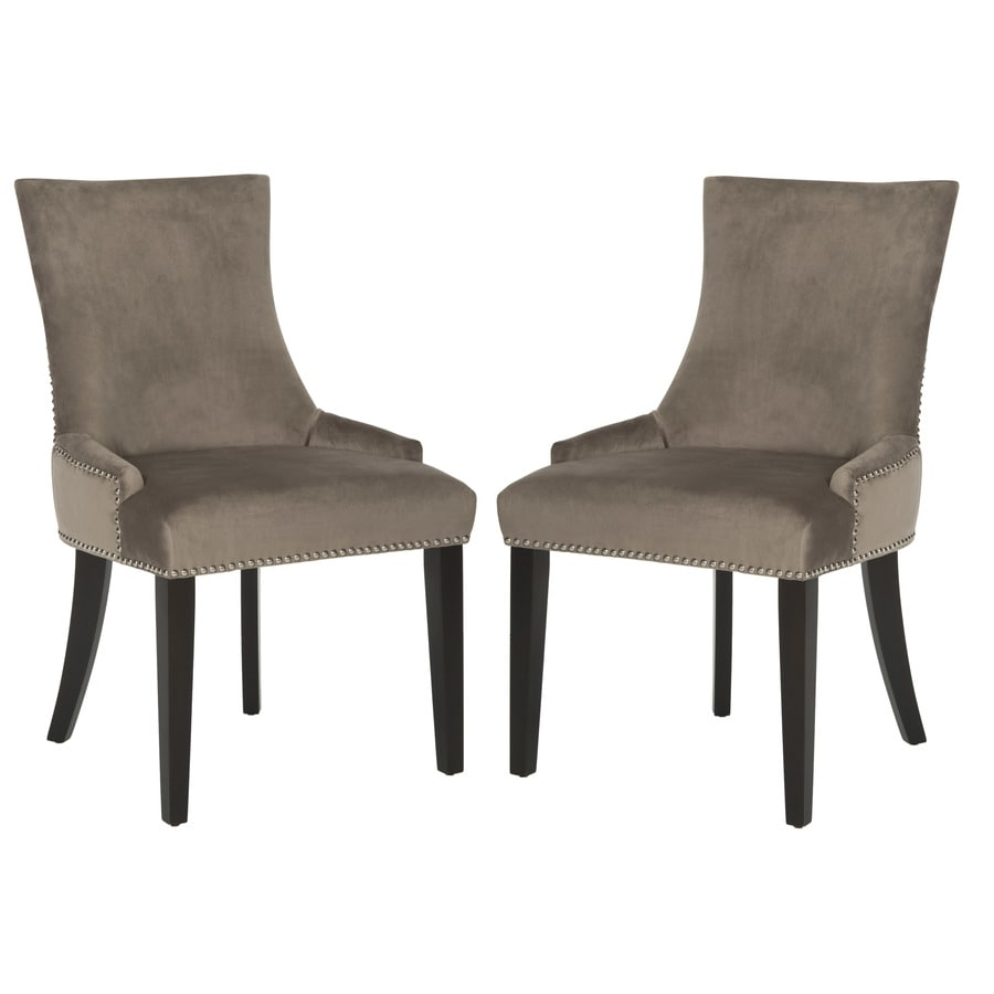 Safavieh Set of 2 Mercer Mushroom Side Chairs