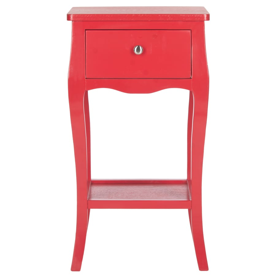 Safavieh Thelma Hot Red Pine End Table