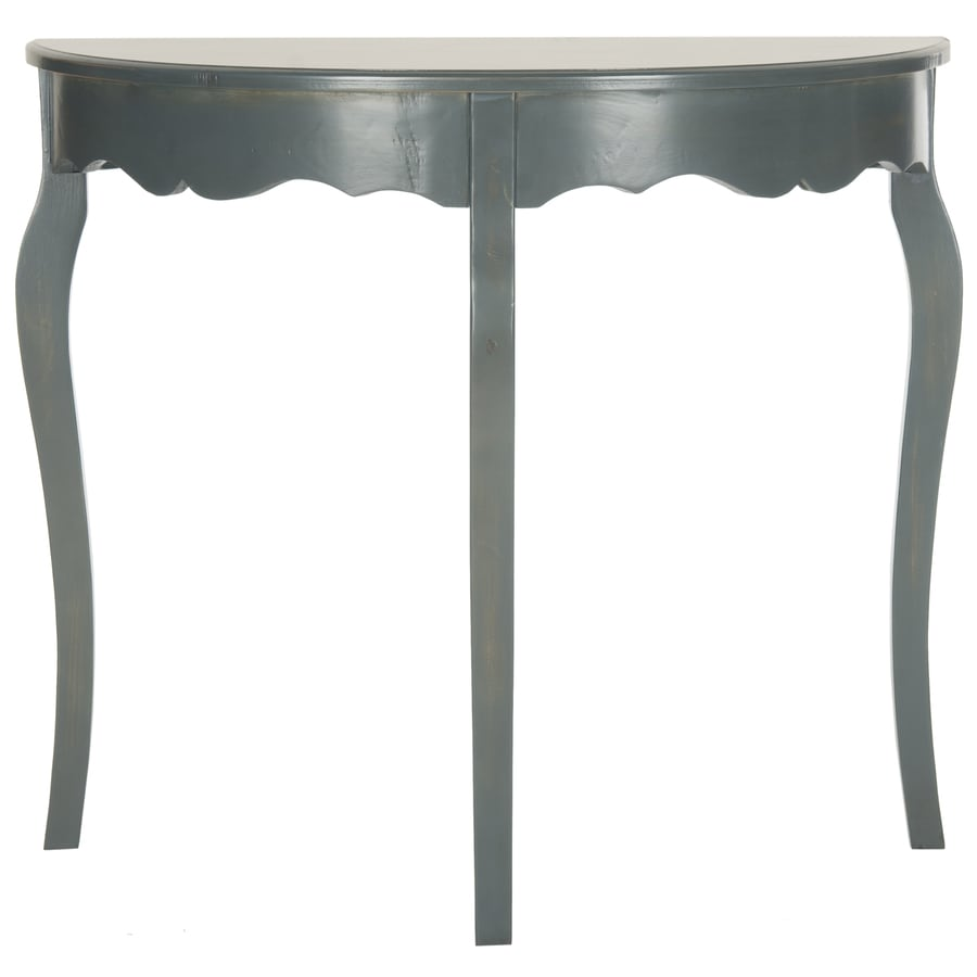 Safavieh American Home French Gray Elm Half-Round Console Table