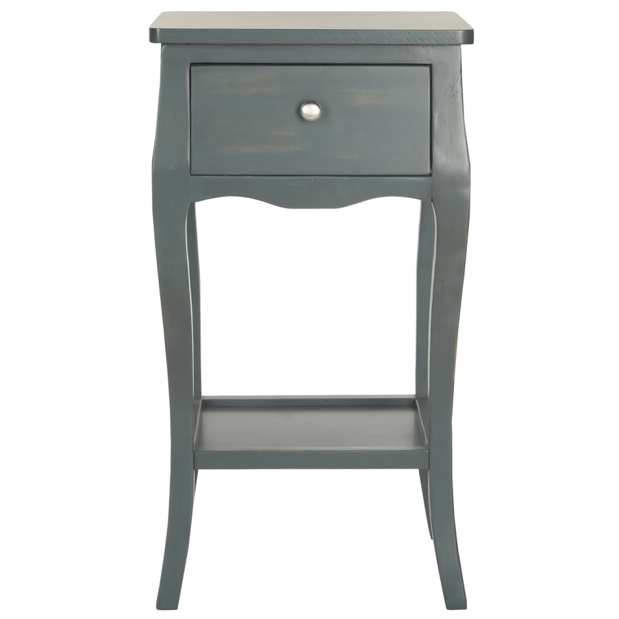 Safavieh Thelma Steel Teal Pine End Table
