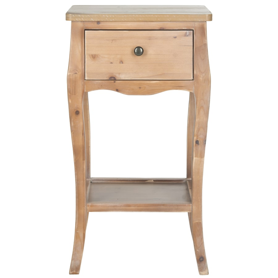 Safavieh Thelma Red Maple Fir End Table