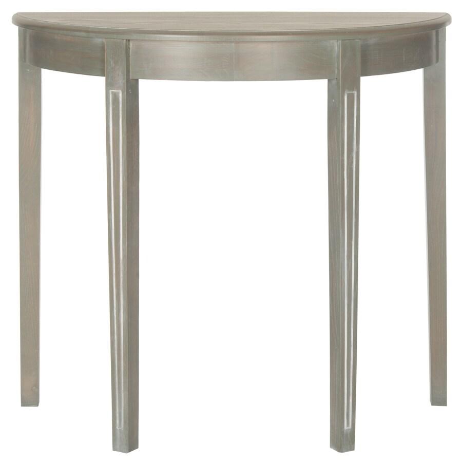 Shop safavieh american home french gray elm half round console safavieh american home french gray elm half round console table geotapseo Gallery