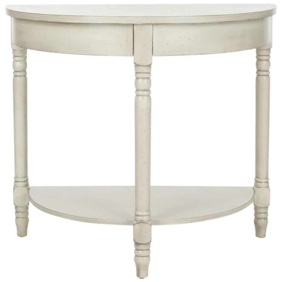 Safavieh Randell White Birch Poplar Console Table