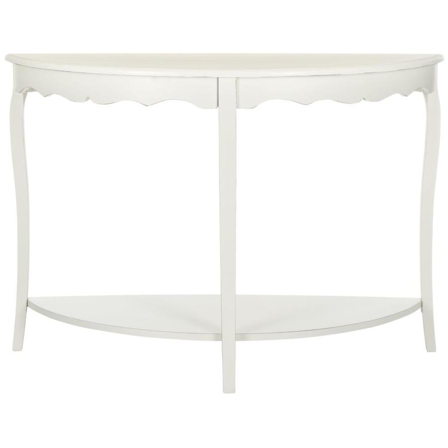 Safavieh Christina Off White Poplar Console Table