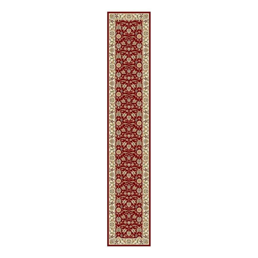 Safavieh Lyndhurst Red and Ivory Rectangular Indoor Machine-Made Runner (Common: 2 x 12; Actual: 27-in W x 144-in L x 0.33-ft Dia)