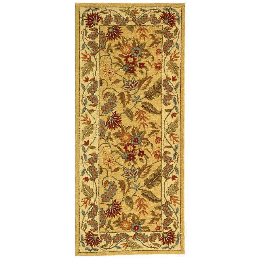 Safavieh Chelsea Spring Ivory Indoor Handcrafted Lodge Runner (Common: 2 x 6; Actual: 2.5-ft W x 6-ft L)