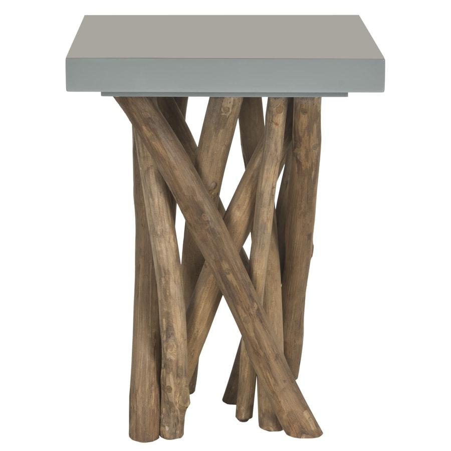 Safavieh Hartwick Gray Square End Table