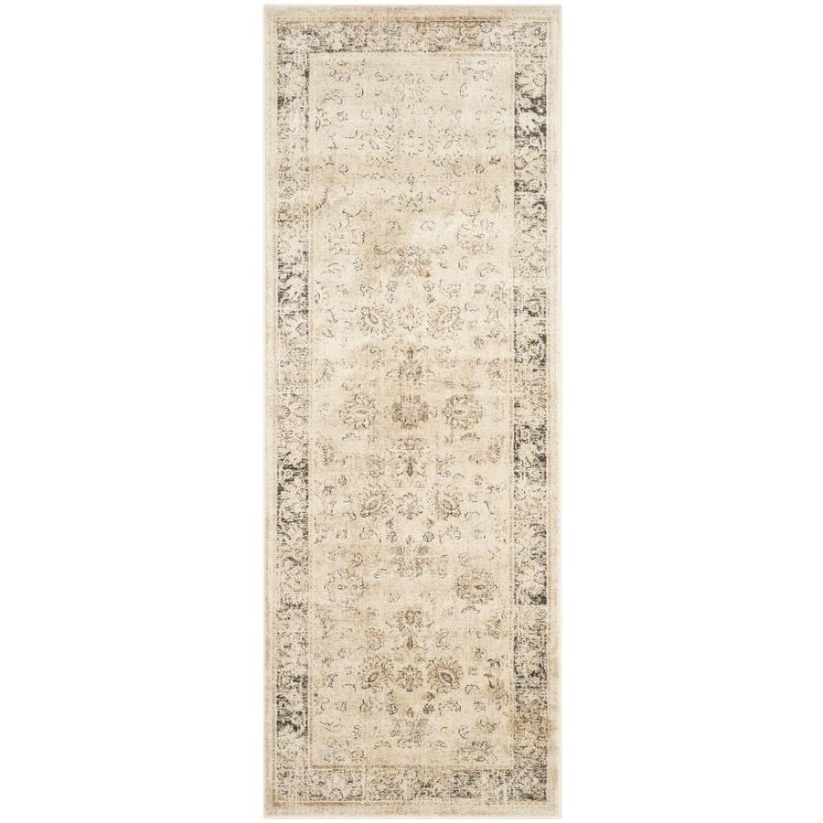 Safavieh Vintage Mosed Stone Indoor Distressed Runner (Common: 2 x 6; Actual: 2.2-ft W x 6-ft L)
