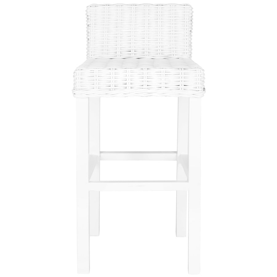 Safavieh Cypress Coastal White Bar Stool
