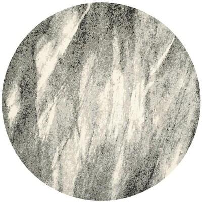 Safavieh Retro Azusa Gray/Ivory Round
