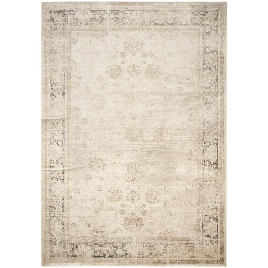 Safavieh Vintage Stone Rectangular Indoor Machine-Made Distressed Area Rug (Common: 8 x 12; Actual: 8.833-ft W x 12.167-ft L)