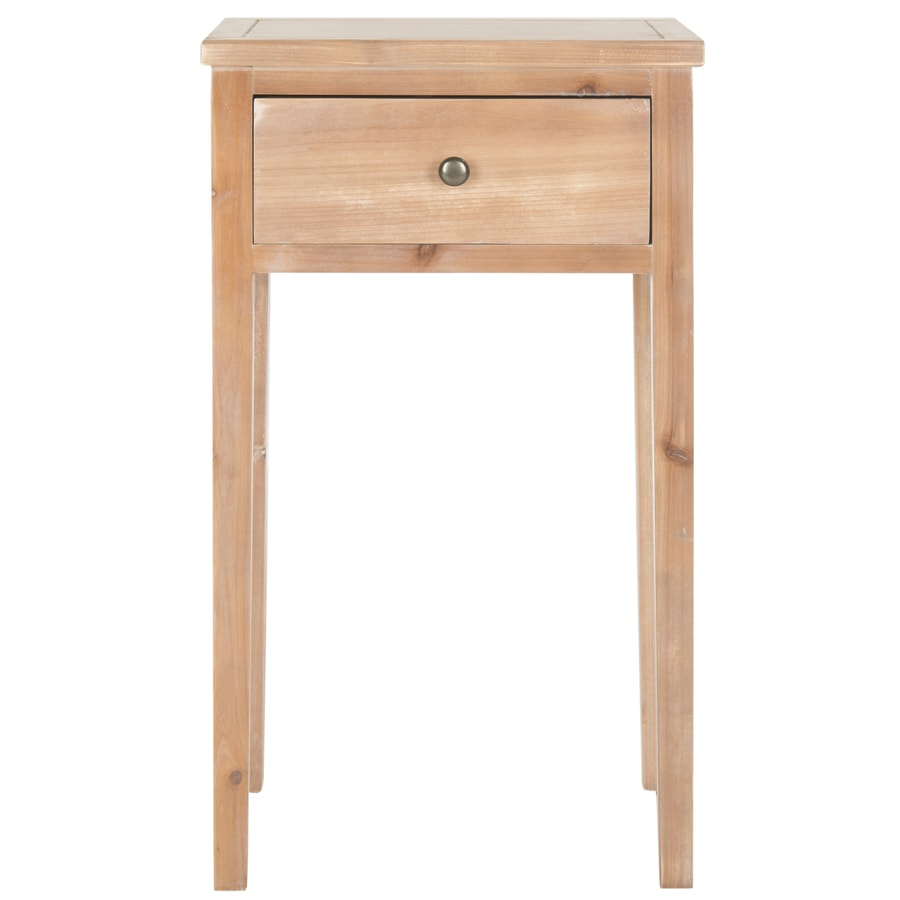 Safavieh American Home Red Maple Fir Rectangular End Table