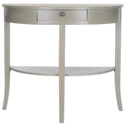 Safavieh Alex French Gray Casual Console Table at Lowes com
