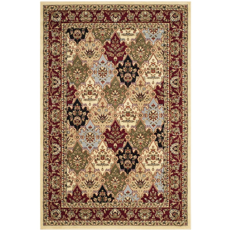 Safavieh Lyndhurst Fusion Red Indoor Oriental Throw Rug (Common: 3 x 5; Actual: 3.25-ft W x 5.25-ft L)