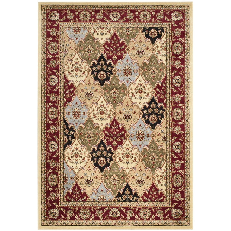 Safavieh Lyndhurst Fusion Red Indoor Oriental Area Rug (Common: 5 x 8; Actual: 5.25-ft W x 7.5-ft L)